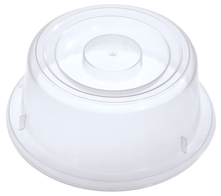 Tellerglocke, transparent-weiß Ø 19 cm