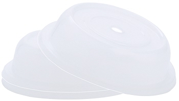 Tellerglocke, transparent-weiß Ø 28 cm