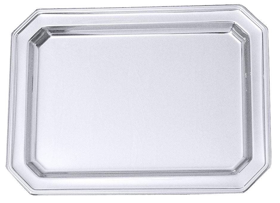 Platte, achteckig 37 x 27 cm