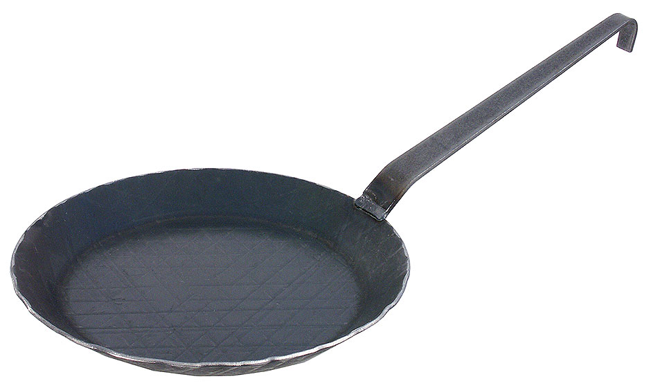 Brat- und Servier-Eisenpfanne Ø 28 cm