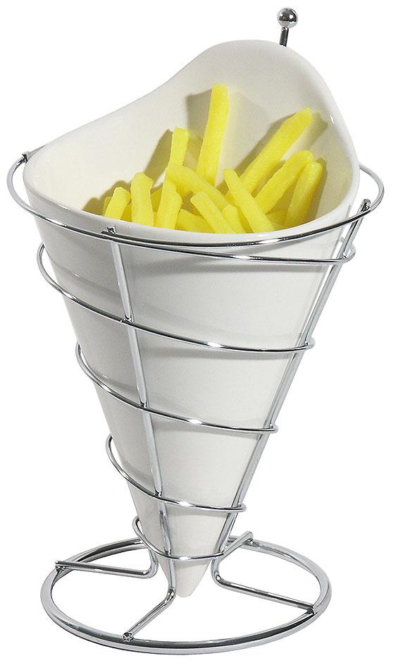 Pommes frites - Tütenhalter