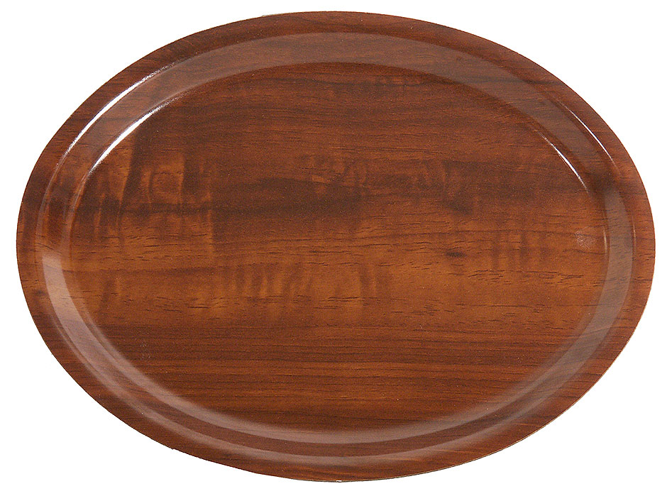 Serviertablett, oval 23 x 16 cm