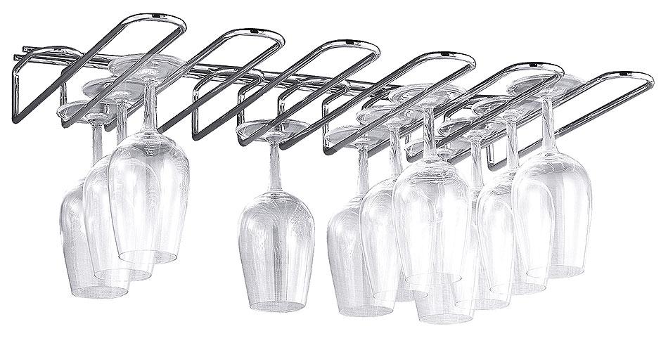 Gläserregal für 5 Glasreihen
