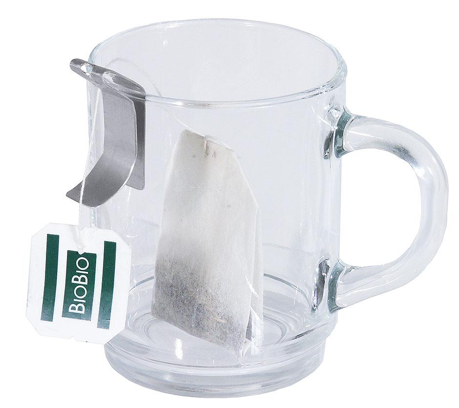 Teebeutelklammer