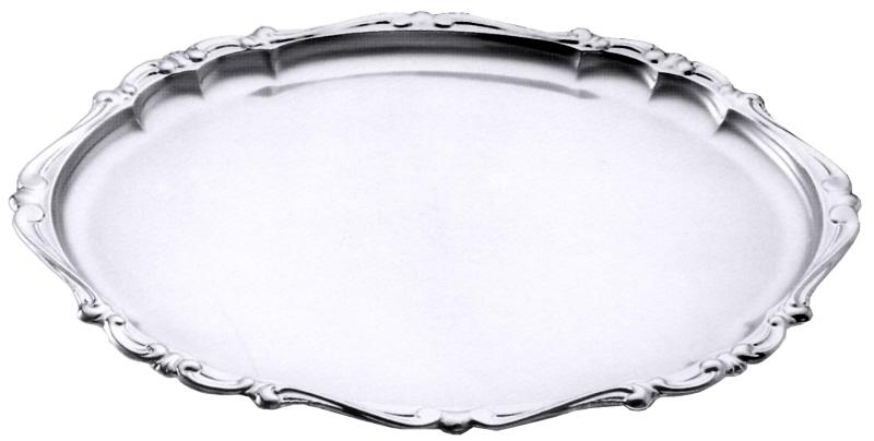 Barock-Tablett, oval 47 x 36 cm